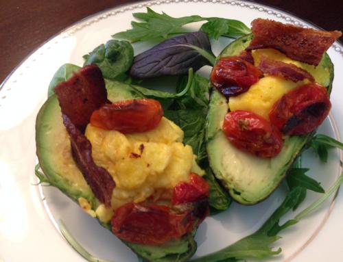 Avocado Breakfast Boat