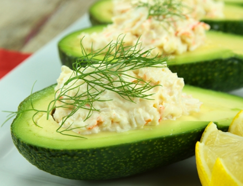 Avocado Stuffed with Crabmeat