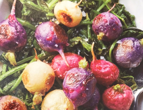 Roasted Radishes, Beets and Greens
